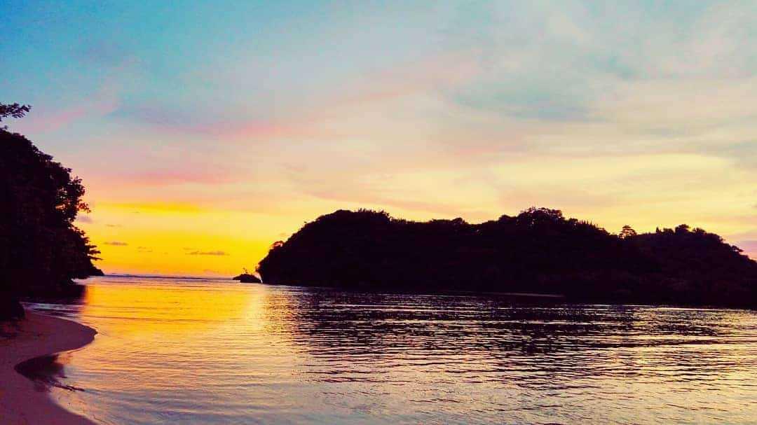 Sunset di Pantai Clungup