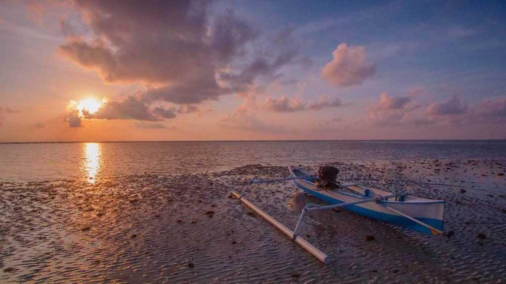 Sunset Pantai Samboang