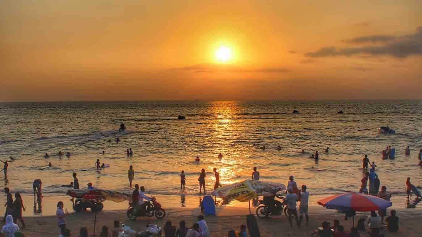 Sunset Pantai Marbella Anyer